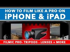 Learn how to film like a pro with The Epic Guide to iPhone and iPad Filming. This filmic pro tutorial teaches you everything you need to know to get professi...