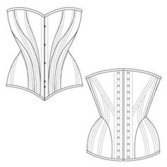 free corset patterns by ralph pink  thank you so much