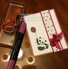 Party Pandas Jackie Diediker Stampin Up