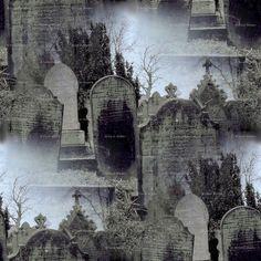 graveyard fabric - Google Search