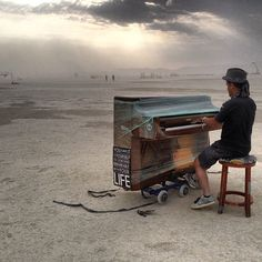 Surreal Images From Burning Man