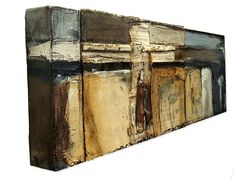 Crystal Neubauer Collage Mixed Media & Oil Painting
