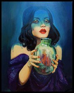 Inspiring Art by Natalia Rak http://www.cruzine.com/2013/09/30/inspiring-art-natalia-rak/