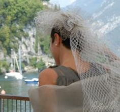 Gallia e Peter millinery bridal couture