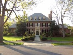 This Baltimore home, built during the 20's and modeled after Westover Plantation