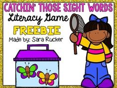 This adorable sight word game is perfect for ANY time of the year. :) It includes 110 Pre-Primer through 3rd grade sight words in the game.If you enjoy and use this freebie, please take the time to leave feedback!It is very much appreciated! :)Thank you,Sarakeywords: sight words, dolch sight words, sight word game, word work