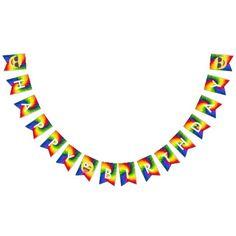 #Smiley Emoji Tie Dye Birthday Banner - #emoji #emojis #smiley #smilies