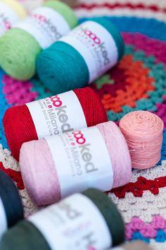 Textile Yarn Various Shades Hoooked EkoYarn