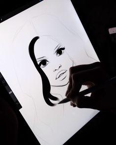 Digital Hair Drawing Tutorial by AlicjaNai - Brushes: ✂️Hair Brush Set✂️ ✏️Sketchy Brush Set✏️ 🎨 Paint Brush Set🎨 . Digital Painting Tutorials, Digital Art Tutorial, Art Tutorials, Digital Paintings, Cool Art Drawings, Art Drawings Sketches, Hair Drawings, Drawing Hair, Art And Illustration