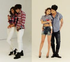 poses of couples on the ground | 2PM Wooyoung & Taecyeon photoshoot with Song Haena | Kpopseven