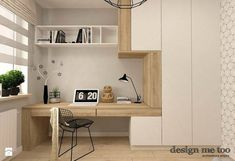 37 Minimalist Home Offices That Sport Simple But Stylish Workspaces – Modern Home Office Design Home Interior Design, Modern Home Office, Creative Home, Trendy Home, Home, Modern Home Offices, Home Office Decor, Minimalist Home, Modern Office Design