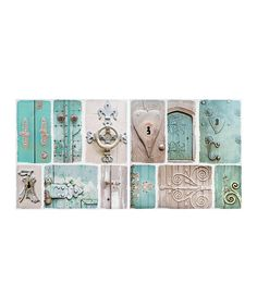 Antique Door Wall Décor - Set of Two by Designs Combined Inc. #zulily #zulilyfinds