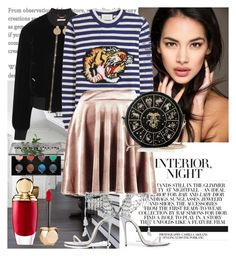 """Interior"" by raincheck ❤ liked on Polyvore featuring WALL, Givenchy, Gucci, Boohoo, Marchesa, Preciously, Sephora Collection and Urban Decay"