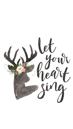 {Free} Desktop & iPhone Wallpapers // Let Your Heart Sing | thefreewoman.com