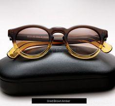Cutler and Gross 1083 sunglasses - Grad Brown Amber Funky Glasses, Mens Glasses Frames, Eyeglass Frames For Men, Cutler And Gross, Fashion Eye Glasses, Men Eyeglasses, Casual Wear For Men, Wearing Glasses, Wayfarer Sunglasses