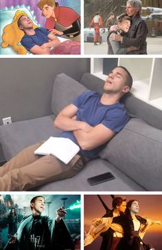 Hilarious reaction to when your co-worker falls asleep at work