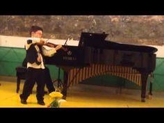"""Oscar Rieding - Violin Concert  I, II, III; Vincitore del I Premio Assoluto, Concorso Internazionale Musicale Premio """"Terra degli Imperiali"""" Città di Francavilla Fontana. See more of this young violinist #from_CerishaAlexanderLeon #PrizeWinningViolinists"""