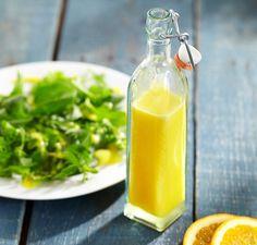 Lemon Garlic Dressing (1 lemon, peeled, halved, seeded 1/2 teaspoon hot sauce 2 garlic cloves, peeled 1/2 teaspoon paprika 1/4 teaspoon ground cumin 1 teaspoon salt 1/3 cup olive oil)