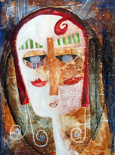 Andrea At The Kunsthaus by Scott Bergey