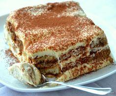Spaghetti Eis Dessert, Good Food, Yummy Food, Tiramisu Cake, Sweet Breakfast, Cake Cookies, Delicious Desserts, Brunch, Cooking Recipes