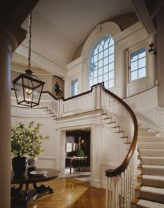 Staircase and windows