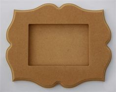 5 x 7 Whimsical Picture Frame (Storybook) - Unpainted on Etsy, $11.99