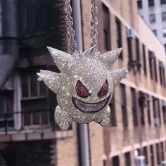 Pokemon necklace - Details about Pure 925 Silver With Gengar Pokemon Cartoon Men Pendants With Multi Color Stones – Pokemon necklace Luxury Jewelry, Custom Jewelry, Pokemon Gengar, Pokemon Necklace, Pokemon Jewelry, Rapper Jewelry, Hip Hop, Gold Pokemon, 925 Silver