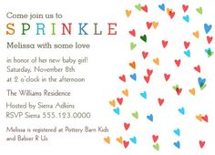 Baby Sprinkle Invitation Idea 12