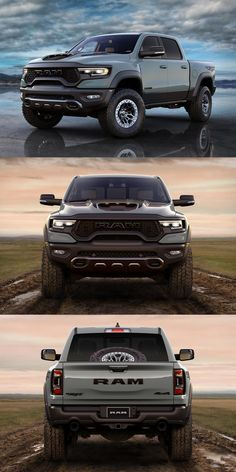 Ram Trucks, Dodge Trucks, Pickup Trucks, Jeep Pickup, Future Trucks, Future Car, Dodge Ram 1500, Tacoma Truck, Silverado Truck