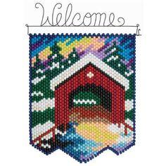 Herrschners® Winter Bridge Beaded Banner Kit