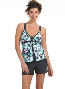 Mix and Match The limit does not exist. Our collection has something for every water wanderer: from sporty surfer looks with board shorts to the latest trends, mix and match our tops and bottoms to create a look that's uniquely you. Women's Swimwear, Tankini Top, Mix N Match, Latest Trends, Tropical, Sporty, Collection, Tops, Fashion