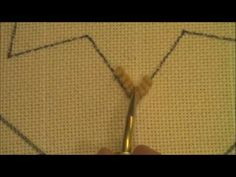 Gene Shepherd: Hooking a Point ~ DIY Rug Hooking Instructional How To Video