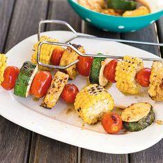 Gemüsespieße mit Tempeh Rezept | Küchengötter