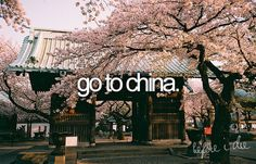 Before I die: China
