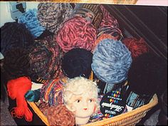 Yarn for sale in SUPPLIES on website http://barbspencerdolls.com
