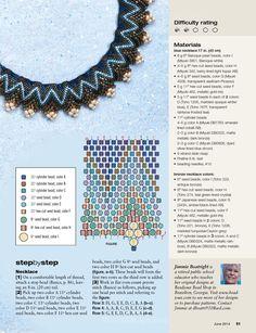 beading magazine June 2014