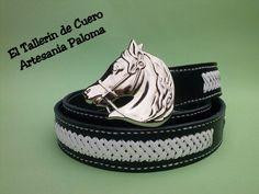 Cinturon de cuero hecho a mano. Handmade belt. palomacomplementos@gmail.com