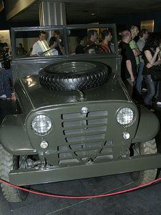 """Prototipo del Alfa Romeo 1900M AR51 """"Matta"""" (1951)"""