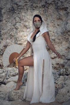 Dressing g Goddess Robe Bridal Bellydance Cosplay Wrap Tribal AUTUMN MAGIC Festival Cover up Burning Man Wedding Smoking Jacket