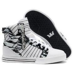 Find Supra Skytop Bright White Black Men s Shoes Authentic online or in  Pumaslides. Shop Top Brands and the latest styles Supra Skytop Bright White  Black ... d4fe39984e4
