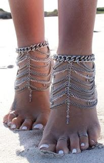 2015 New Fashion Bohemia Hand Made Multilayers Silver Chain Crystal Pendant Tassel Anklet Barefoot Bracelet Beach Foot Jewelry Ankle Jewelry, Ankle Bracelets, Body Jewelry, Fine Jewelry, Jewellery, Cheap Jewelry, Jewelry Ideas, Jóias Body Chains, Tanzanite Engagement Ring
