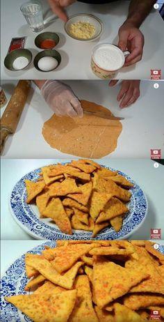 Doritos caseiro Testando a receita #doritos #doritoscaseiro #biscoitodoritos #