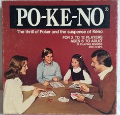 U.S. Playing Card Company 1970s Po-Ke-No game