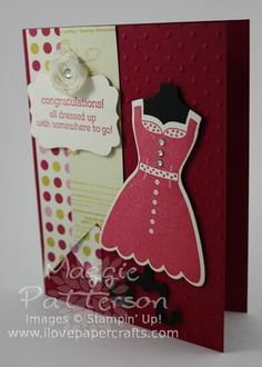 Fabulous Friday with All Dressed Up Bundle from Stampin' Up