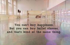 Or any dance class not just ballet:) gotta love acro, jazz, hip hop, waacking :)