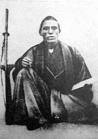 In 1866, he met with Saigō Takamori and Chōshū Domain's Kido Takayoshi to form the secret Satcho Alliance to overthrow the Tokugawa.