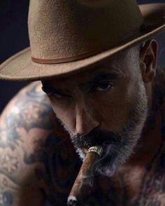 Silver Foxes Men, Silver Man, Daniel Sheehan, Goatee Beard, Latino Men, Cigar Men, Grey Beards, Cigars And Whiskey, Hobo Style
