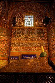 Jalāl ad-Dīn Muḥammad Rumi's Tomb