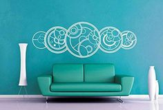 Amazon.com: Doctor Who Time Lords 44x23 Die Cut Vinyl Wall Decal Sticker: