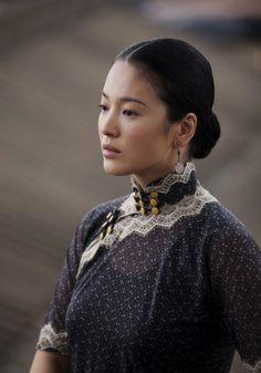 Song Hye Kyo's Cheongsams Showcase in The Grandmaster